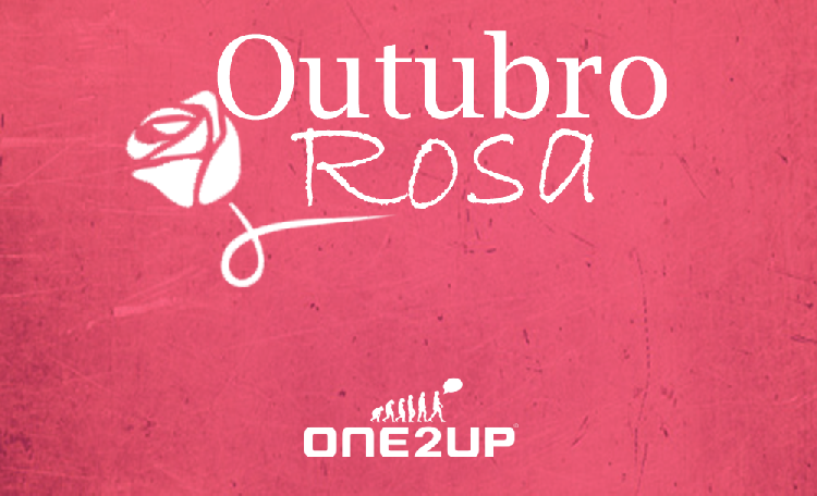O Outubro é rosa na ONE2UP!